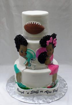 Rough n' Stuff or Afro Puff Cake