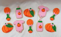 Pumpkin Baby Cookies