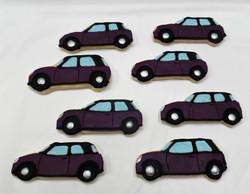 Mini Cooper Cookies