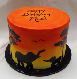 African Birthday Cake (View 3)