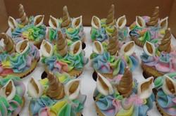 Unicorn Birthday Cupcakes