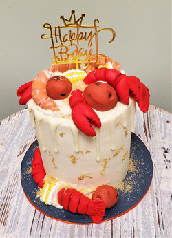 Boil Birthday Cake