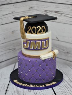 JMU Graduation Cake