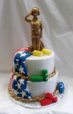 Maintainer Retirement Cake