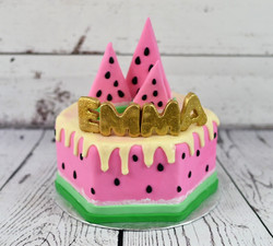 Watermellon Birthday Cake