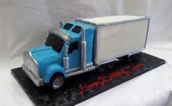 Trucker's Birthday Cake