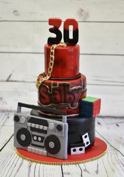 90s Birthday Cake