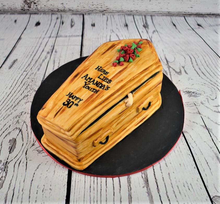 Here Lies Birthday Cake