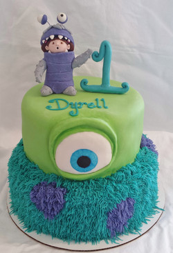 Monsters Inc (Icing Smiles Cake)