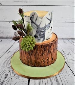 Woodland Birthday Cake