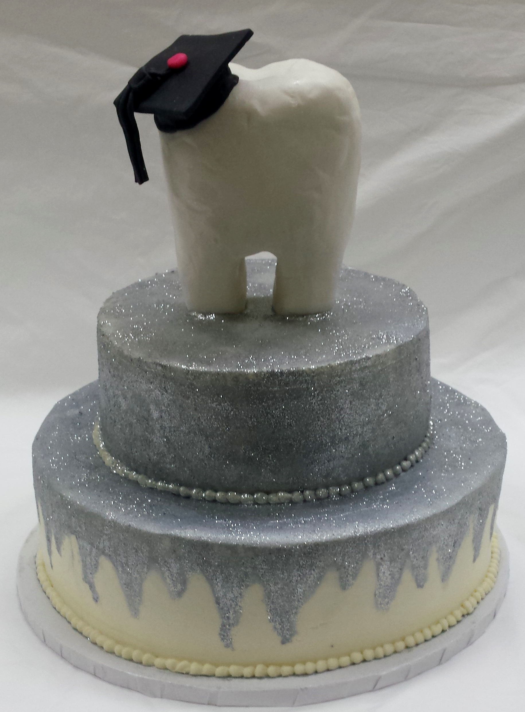 Dental Hygenist Graduation Cake