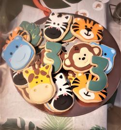 Safari Birthday Cookies