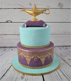 Arabian Baby Shower Cake