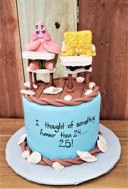 Funnier than 24 Birthday Cake