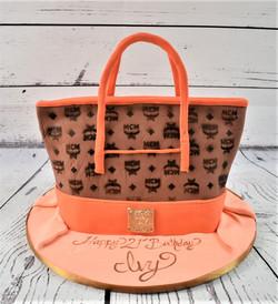 MCM Purse Birthday Cake