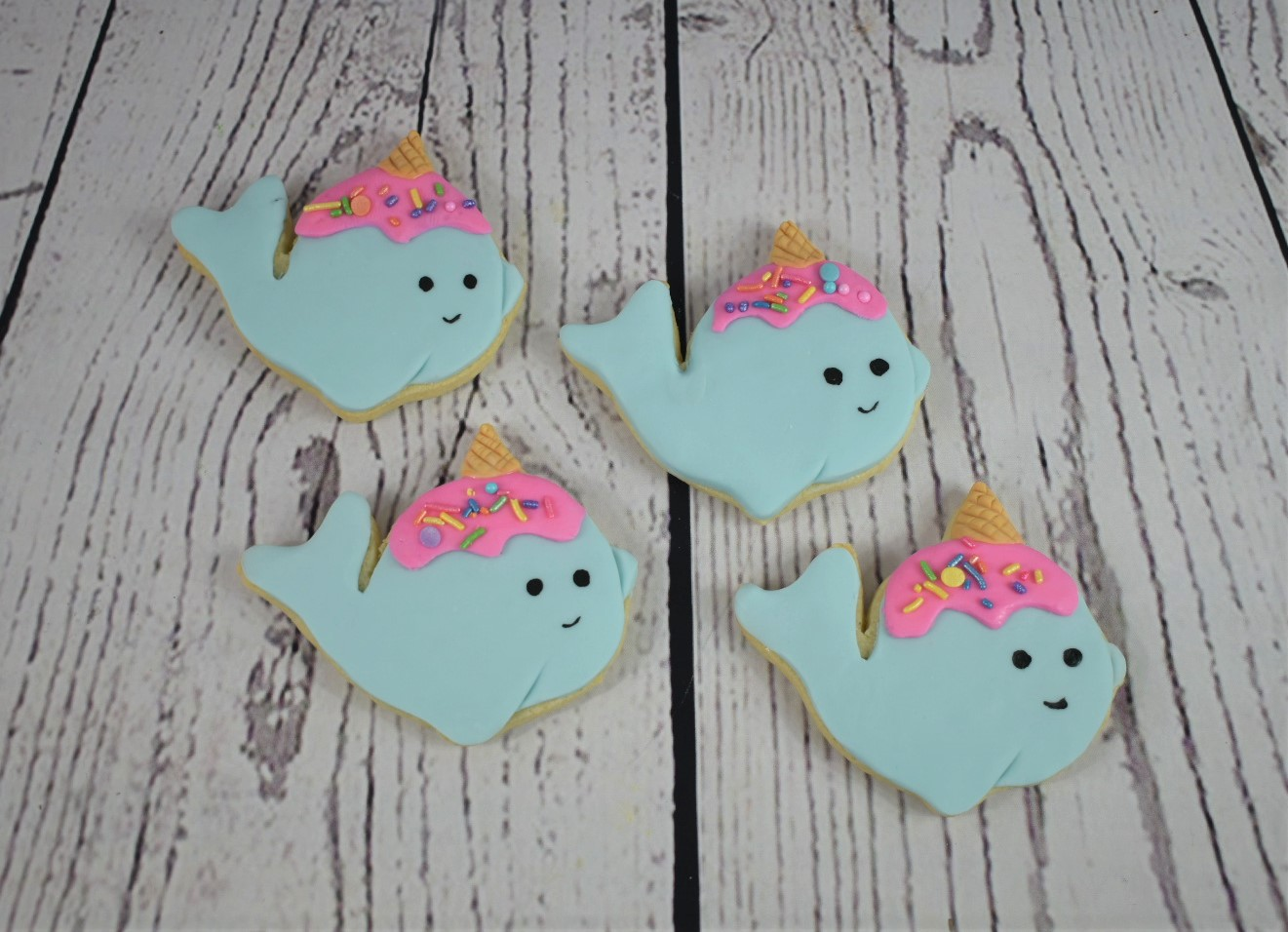Narwhal Cookies