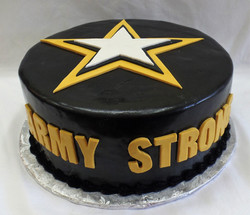 Army Strong Cake