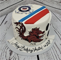 Remind Me of Home Birthday Cake