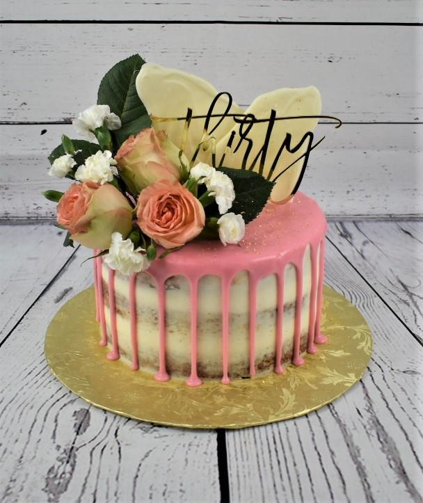 Thirty Birthday Cake
