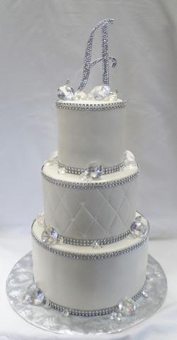 Diamonds Birthday Cake
