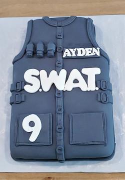 SWAT Birthday Cake