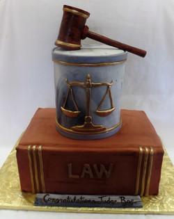 Judge Retirement Cake