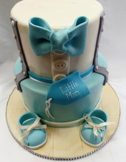 Little Man Baby Shower Cake