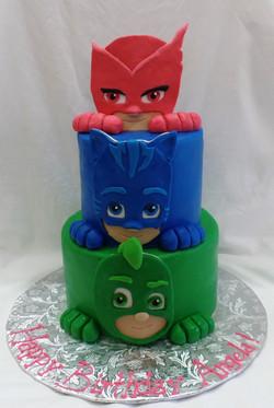 PJ Masks Birthday Cake