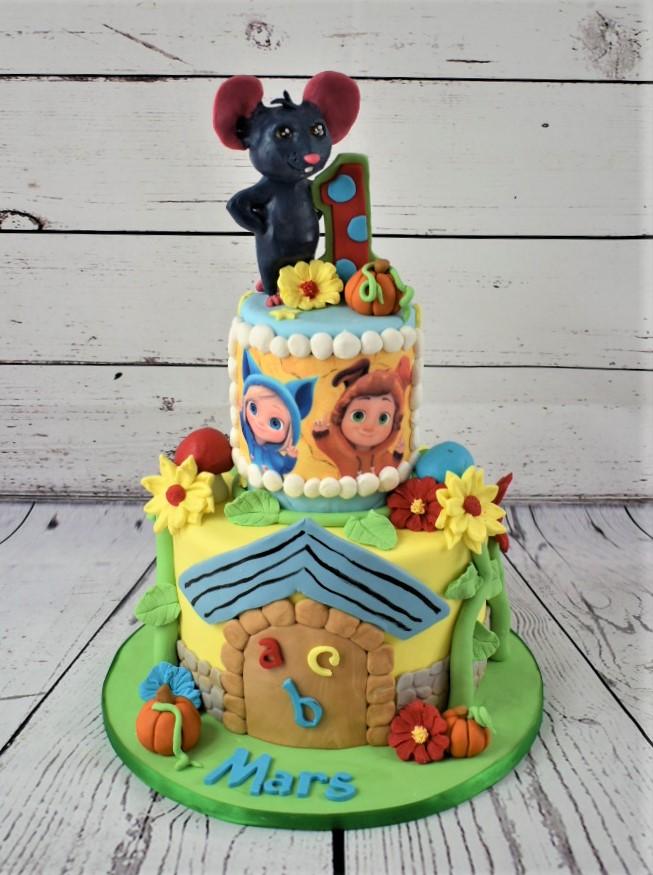 Dave & Ava Birthday Cake