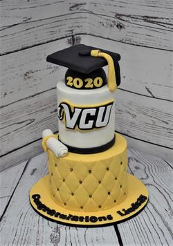 VCU Graduation Cake