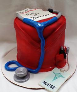 Nurse's Birthday Cake