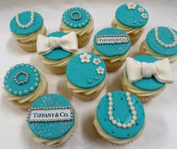 Tiffany Birthday Cupcakes