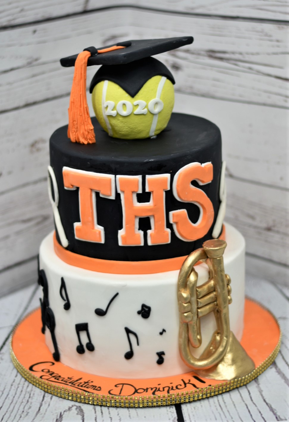 Tabb High School Graduation Cake