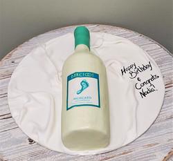 Wine Birthday Cake