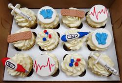 Nurse's Birthday Cupcakes