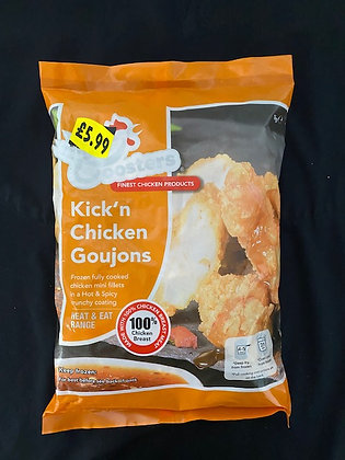 SPICY CHICKEN GOUJONS