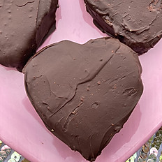 Peanut Butter Chocolate Heart (2pack)