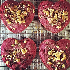 Beetroot chocolate chip