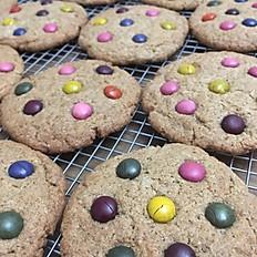 Unreal M&M cookies