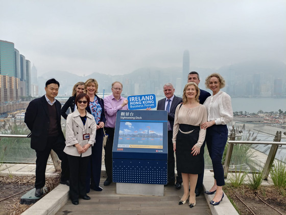 Dublin Chamber of Commerce delegation visit in HK from 13-18 January