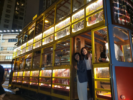 Hong Kong Circus Tram Party on 15 October, 2018