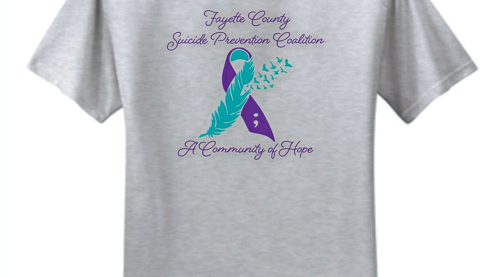 Fayette County Suicide Prevention Coalition Short Sleeve Tee