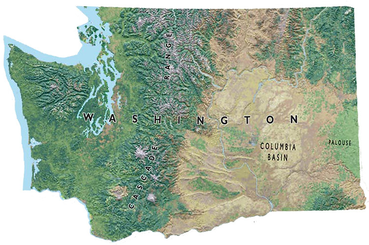 Washington State ATV Trails Map
