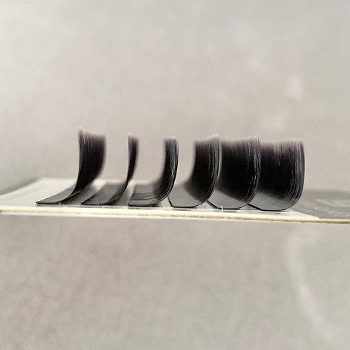 M-Curl Volumen Silk Wimpern (Einzellängen)