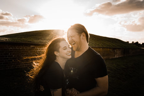 Fort Macon Engagement Photography