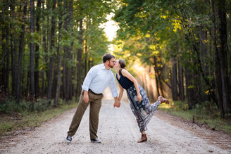 Goose Creek State Park Engagement Photography