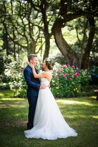 Elizabethan Gardens Wedding
