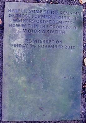 Walkers Croft Memorial Stone in Southern