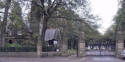 Southern Cemetery Barlow Morr Rd Entranc