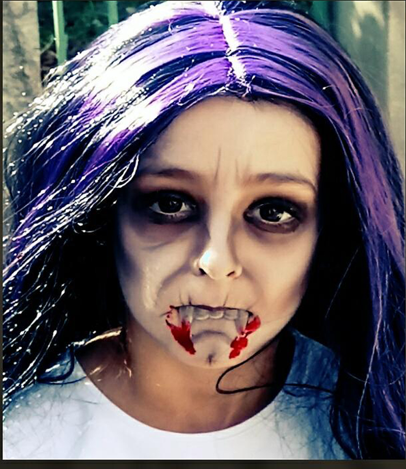 maquillage haloween